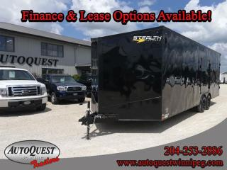 Used 2021 Stealth TRAILER 8.5' x 24' V-Nose Cargo for sale in Winnipeg, MB