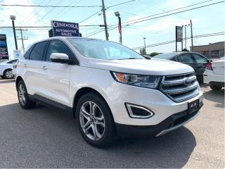 Used 2016 Ford Edge Titanium AWD, Nav, Pano Roof, Leather, Cooled Seat for sale in Caledonia, ON