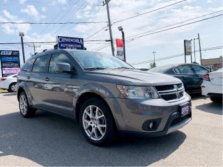 Used 2013 Dodge Journey Crew   Touch Screen, 7Passenger, Heated Seats for sale in Caledonia, ON