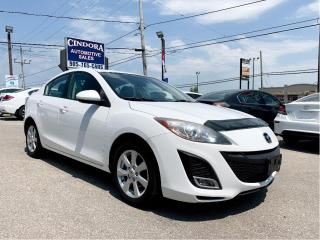 Used 2011 Mazda MAZDA3 GS, Automatic, Leather, Heated Seats, Sunroof for sale in Caledonia, ON