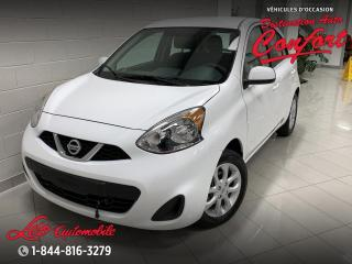 Used 2018 Nissan Micra S *BLUETOOTH**CAMERA DE RECUL* for sale in Chicoutimi, QC