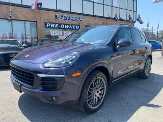 Used 2017 Porsche Cayenne AWD 4dr Platinum Edition / NAVI / PANO-ROOF for sale in North York, ON