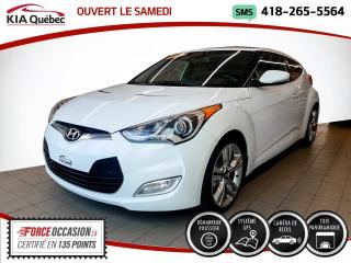 Used 2014 Hyundai Veloster TECH* GPS* TOIT* CAMERA* SIEGES CHAUFFAN for sale in Québec, QC