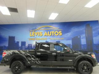 Used 2011 Ford F-150 XLT 4X4 SUPER CREWCAB 3.5 LITRES V-6 ECO for sale in Lévis, QC