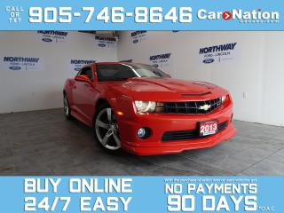 Used 2013 Chevrolet Camaro SS | BREMBO | 426HP | SUNROOF | ONLY 38 KM! for sale in Brantford, ON