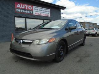 Used 2008 Honda Civic DX ** 86 000 KM ** for sale in St-Hubert, QC
