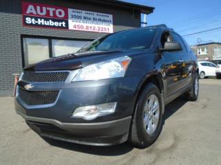 Used 2011 Chevrolet Traverse LS AWD 8 PASS for sale in St-Hubert, QC