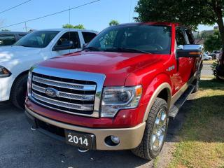 Used 2014 Ford F-150 Lariat   5.5-ft.Bed for sale in Peterborough, ON