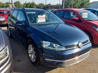 Used 2018 Volkswagen Golf Sportwagen SPORTWAGEN COMFORTLINE 4MOTION CUIR TOIT for sale in Île-Perrot, QC