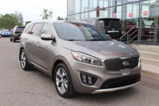 Used 2017 Kia Sorento SX Turbo TI GPS*TOIT*CAMÉRA for sale in Lévis, QC
