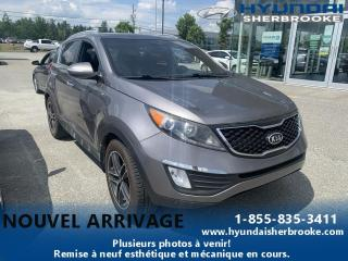 Used 2012 Kia Sportage SX 2.0T AWD+CUIR+TOIT PANO+CAMERA for sale in Sherbrooke, QC