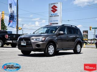 Used 2011 Mitsubishi Outlander ES for sale in Barrie, ON