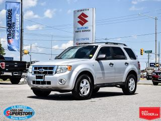 Used 2008 Ford Escape XLT AWD ~3.0L V6 ~Fog Lamps ~Alloy Wheels for sale in Barrie, ON