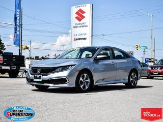 Used 2019 Honda Civic LX ~Heated Seats ~Backup Camera ~Bluetooth for sale in Barrie, ON