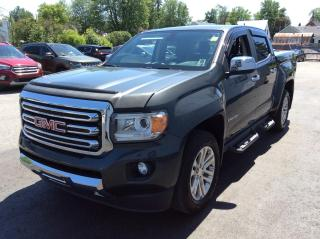 Used 2017 GMC Canyon SLT LEATHER, HEATED PWR SEAT, BACKUP CAM, BEAUTY!! for sale in North Bay, ON