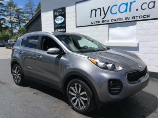 Used 2017 Kia Sportage EX HEATED SEATS, BACKUP CAM, 18