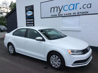 Used 2015 Volkswagen Jetta 2.0L Trendline+ HEATED SEATS, BACKUP CAM!! for sale in North Bay, ON