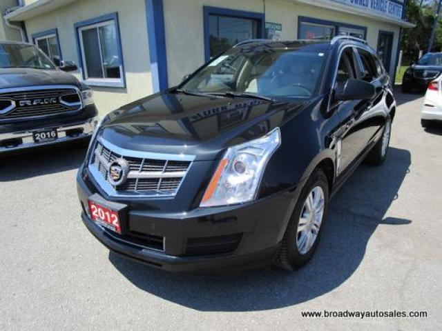 2012 Cadillac SRX LOADED LUXURY EDITION 5 PASSENGER 3.6L - V6.. LEATHER.. HEATED SEATS.. BOSE AUDIO.. PANORAMIC SUNROOF.. BACK-UP CAMERA.. BLUETOOTH SYSTEM..