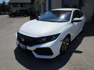Used 2017 Honda Civic FUEL EFFICIENT LX EDITION 5 PASSENGER 1.5L - DOHC.. ECON-MODE PACKAGE.. HEATED SEATS.. BLUETOOTH SYSTEM.. BACK-UP CAMERA.. KEYLESS ENTRY.. for sale in Bradford, ON