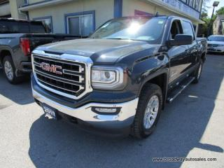 Used 2017 GMC Sierra 1500 GREAT KM'S KODIAK-SLE EDITION 5 PASSENGER 5.3L - V8.. 4X4.. CREW-CAB.. SHORTY.. HEATED SEATS.. TRAILER BRAKE.. BACK-UP CAMERA.. for sale in Bradford, ON