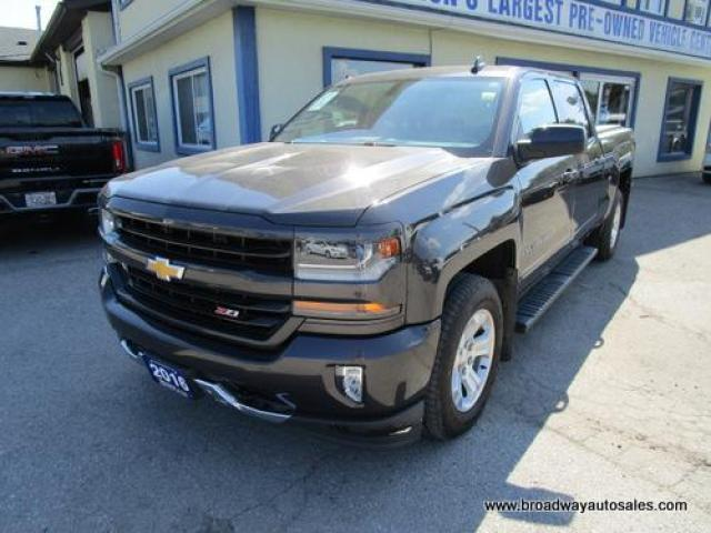 2016 Chevrolet Silverado 1500 LIKE NEW LT EDITION 6 PASSENGER 5.3L - V8.. 4X4.. CREW-CAB.. SHORTY.. HEATED SEATS.. BACK-UP CAMERA.. BLUETOOTH SYSTEM.. KEYLESS ENTRY..