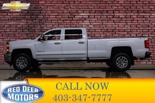Used 2018 Chevrolet Silverado 2500 HD 4x4 Crew Cab LTZ Longbox Leather Roof Nav for sale in Red Deer, AB