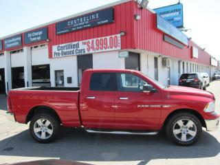 Used 2011 RAM 1500 RAM SLT $15,995+HST+LIC FEE / CLEAN CARFAX / CERTIFIED / 4X4 for sale in North York, ON
