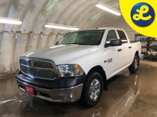 Used 2017 RAM 1500 Crew Cab Hemi 4 X 4 * 6 Passenger * Trailer Brake Controller * Cruise Control * Steering Wheel Controls * Automatic/Manual Mode * Tow Mode * Tow Packa for sale in Cambridge, ON