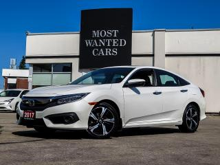 Used 2017 Honda Civic TOURING|NAVIGATION|BLIND|LANE for sale in Kitchener, ON