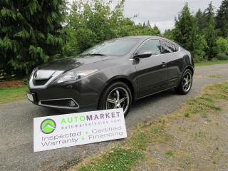 Used 2010 Acura ZDX TECH PCKG, AWD, INSP, BCAA MBSHP, WARRANTY & FINANCING! for sale in Surrey, BC