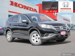 Used 2013 Honda CR-V LX ECON MODE | REARVIEW CAMERA WITH GUIDELINES | BLUETOOTH for sale in Cambridge, ON