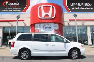 Used 2014 Chrysler Town & Country Touring-LOW KM- LEATHER-CLEAN for sale in Sudbury, ON
