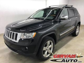 Used 2012 Jeep Grand Cherokee Overland 4x4 V6 Cuir Toit Panoramique Mags for sale in Shawinigan, QC
