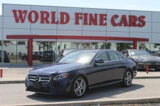 Used 2017 Mercedes-Benz E-Class | Burmester Sound | AWD | Nav for sale in Etobicoke, ON