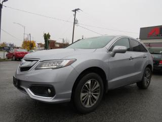 Used 2017 Acura RDX AWD Elite Pkg NAVI CAMERA MAGS 18 CUIR TOIT for sale in St-Eustache, QC