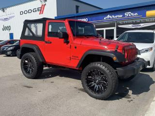 Used 2016 Jeep Wrangler SPORT for sale in Aylmer, ON