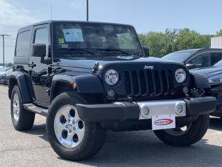 Used 2014 Jeep Wrangler Sahara HEATED SEATS, MANUAL for sale in Midland, ON