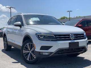Used 2018 Volkswagen Tiguan Highline LEATHER HEATED SEATS, STEERING WHEEL for sale in Midland, ON