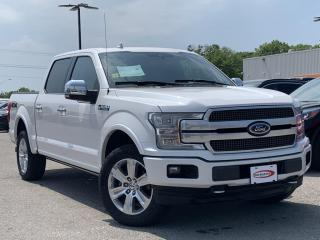 Used 2018 Ford F-150 Platinum LEATHER HEATED SEATS, STEERING WHEEL for sale in Midland, ON