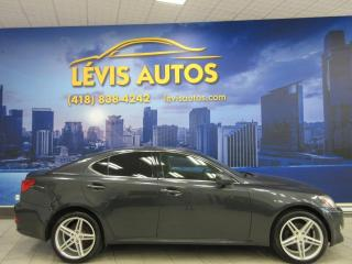 Used 2006 Lexus IS 250 AWD 2.5L V-6 INTERIEUR CUIR CHAUFFANT AI for sale in Lévis, QC