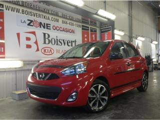 Used 2015 Nissan Micra MICRA SR AUTOMATIQUE A/C SUPER LOOK WOW !! for sale in Blainville, QC