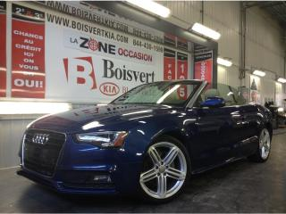 Used 2015 Audi A5 AUDI A5 CONVERTIBLE QUATTRO SLINE WOW !!!!!!!!! for sale in Blainville, QC