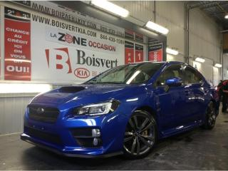 Used 2017 Subaru WRX WRX SPORT TECH TOIT CUIR GPS CAMÉRA SUPER LOOK ! for sale in Blainville, QC