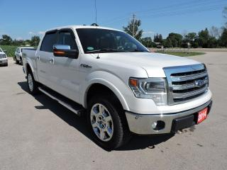 Used 2014 Ford F-150 Lariat Sunroof Navigation Leather Loaded for sale in Gorrie, ON