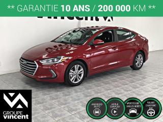 Used 2017 Hyundai Elantra GL ** GARANTIE 10 ANS ** Berline confortable et très propre! for sale in Shawinigan, QC