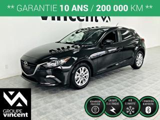 Used 2015 Mazda MAZDA3 GX SPORT ** GARANTIE 10 ANS ** Économique, beau desing et sécuritaire! for sale in Shawinigan, QC