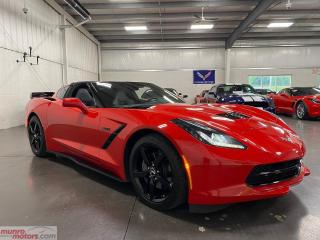 Used 2015 Chevrolet Corvette 2dr Stingray Cpe w-2LT htd/cld seats HUD Memory Pk for sale in St. George Brant, ON