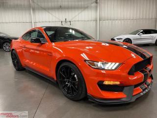 Used 2016 Ford Mustang 2dr Fastback Shelby GT350 Tech Pkg low km's Orange for sale in St. George Brant, ON