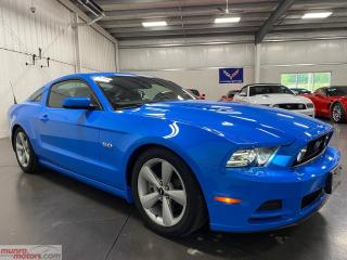 Used 2014 Ford Mustang 2dr Cpe GT Grabber Blue 6spd leather HID Xenon for sale in St. George Brant, ON