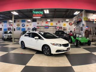 Used 2015 Honda Civic Sedan EX AUTO A/C SUNROOF BACKUP CAMERA BLUETOOTH 94K for sale in North York, ON